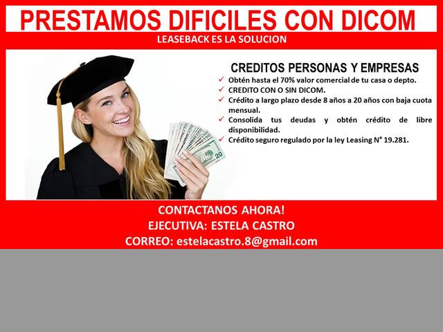 $*Inyecte capita a su Empresa Leaseback CHILE