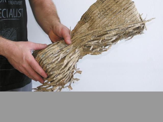 Trituradora de cartón