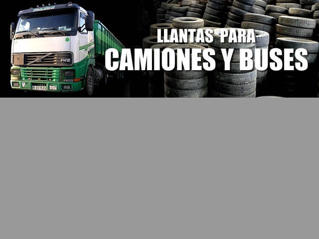 LLANTAS DE CAMION USADAS  - 11R22.5 y 11R24.5