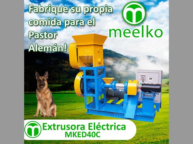 Extrusora Meelko para pellets alimentación de perros y gatos 30-40kg-h 5