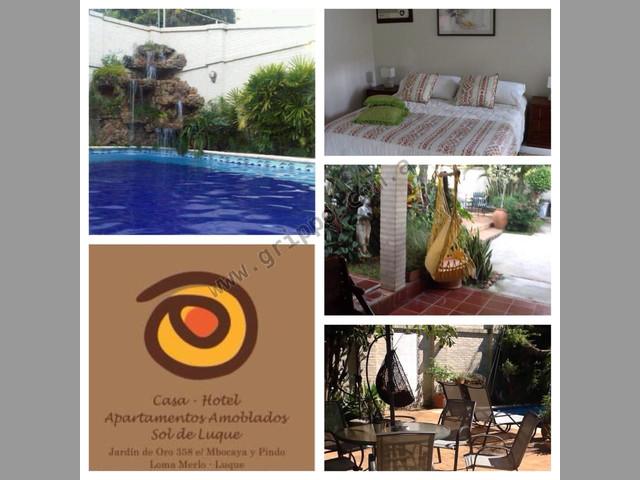 vendo aparthotel en luque paraguay