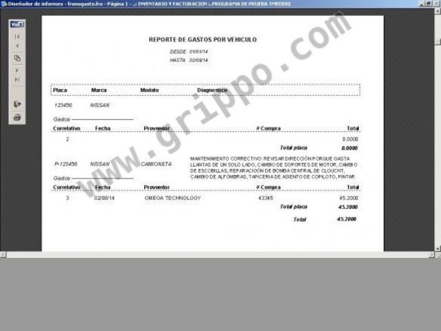 Sistema de inventario y facturación para farmacias