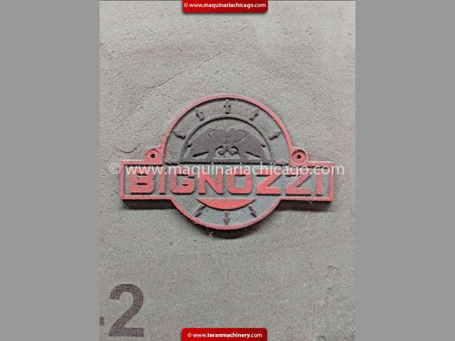 Prensa BIGNOZZI 63 Ton en Venta!