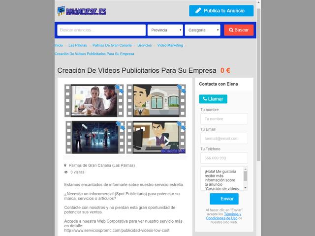 Anúnciese.es Portal de Clasificados Gratis