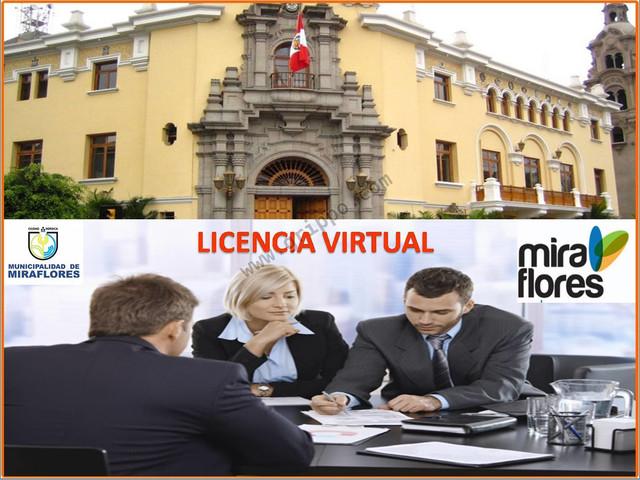 OFICINA VIRTUAL CON LICENCIA DE FUNCIONAMIENTO MUNICIPAL -MIRAFLORES