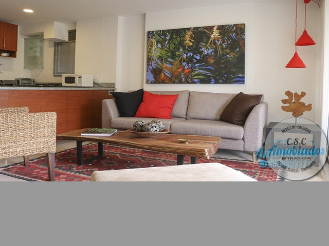 Alquiler de Apartamentos Amoblados código. AP89 (Poblado)