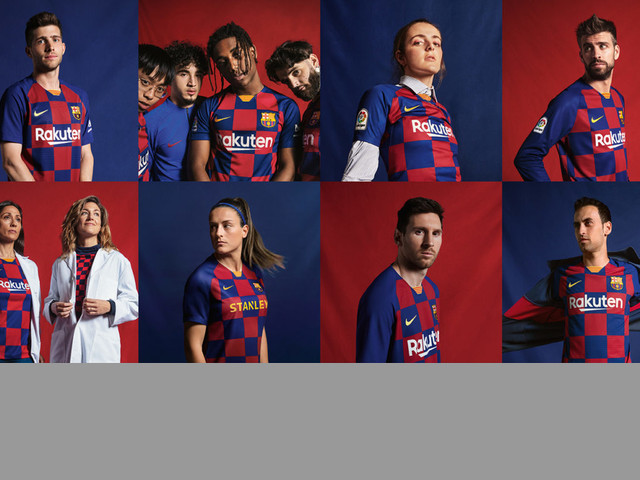 Replica camiseta de futbol Barcelona barata 2019 2020