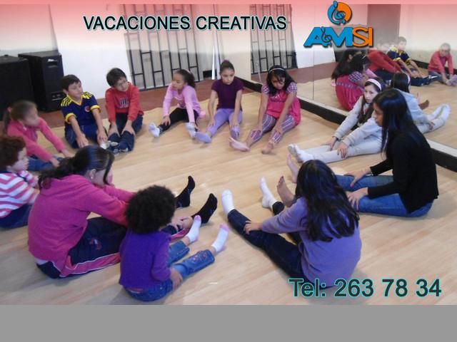 CURSO DE VACACIONES EN BOGOTÁ, niños de 4 a 12 años