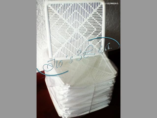 Forros Plasticos para sillas de festejo Jardin de 2 cuerpos
