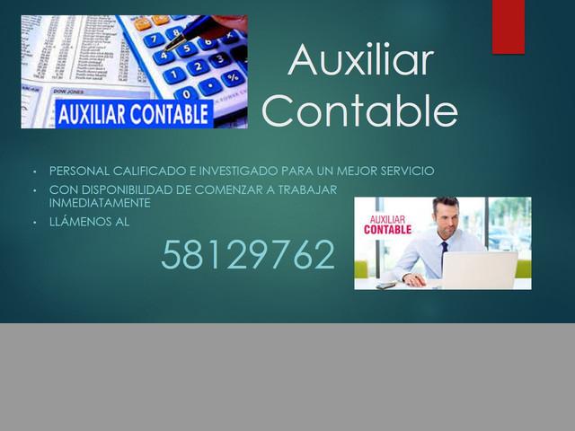 SERVICIO DE PERSONAL DE CONTABILIDAD