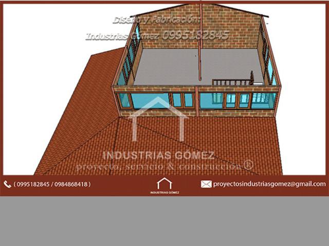 estructura metalica para vivienda