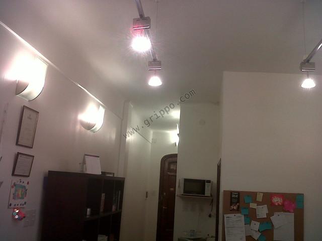 Iluminacion moderana estudio 1 ambiente microcentro Ciudad de Buenos Air
