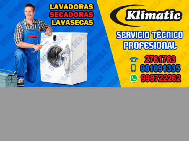 LA VICTORIA – Klimatic  2761763 Reparación de lavadoras a Domicilio