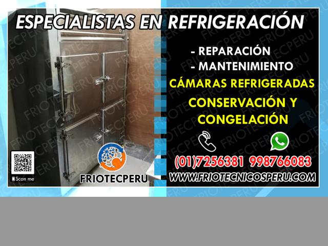 !!GARANTÍA!»Servicio tecnico –cámaras refrigeracion 7256381«Callao»