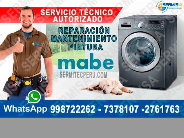 Asesores Técnicos Mabe 2761763  servicio técnico de Lavadoras – SAN I