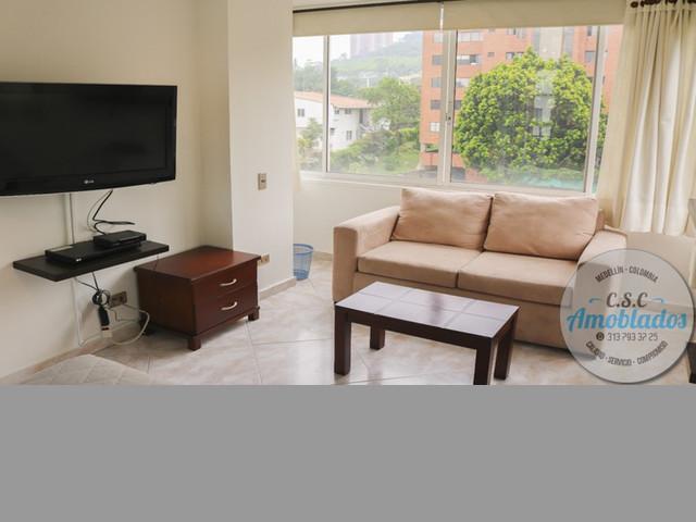 Alquiler de Apartamentos Amoblados código. AP91 (Poblado)