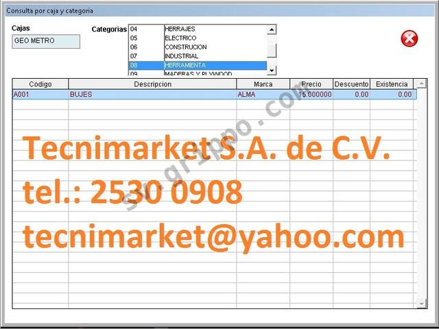Sistema de inventario y facturación ideal para venta de repuestos