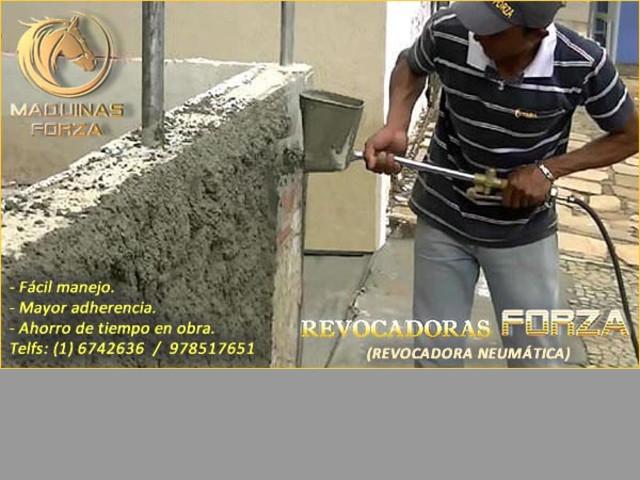 REVOCADORA NEUMATICA PARA TECHO Y PAREDES