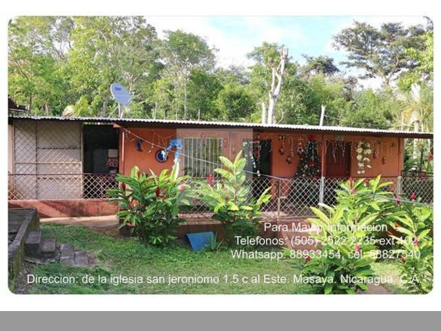 venta de preciosa quinta en san juan de oriente masaya