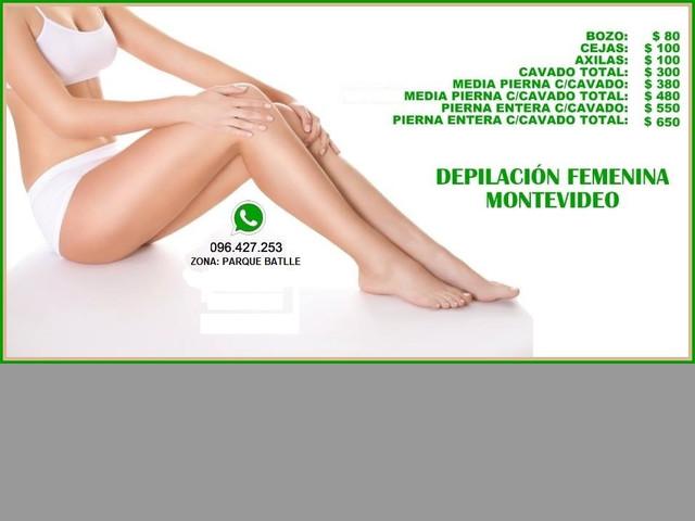 Depilación Femenina Con Cera. Sistema Roll On y Sistema Español