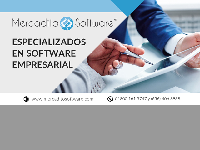 mercadito software administrativo