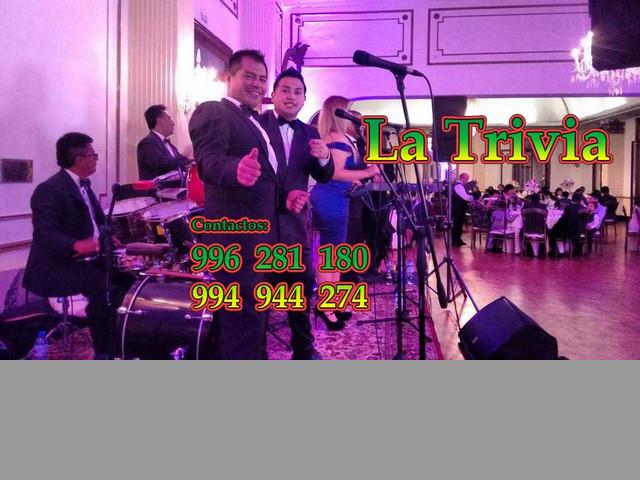 La Trivia Orquesta en Club de La Unión