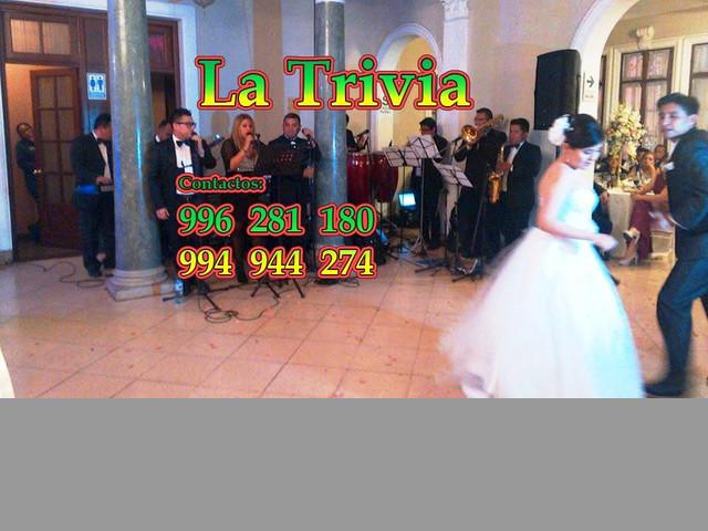 LA TRIVIA ORQUESTA Cel.  996281180 Lima Perú