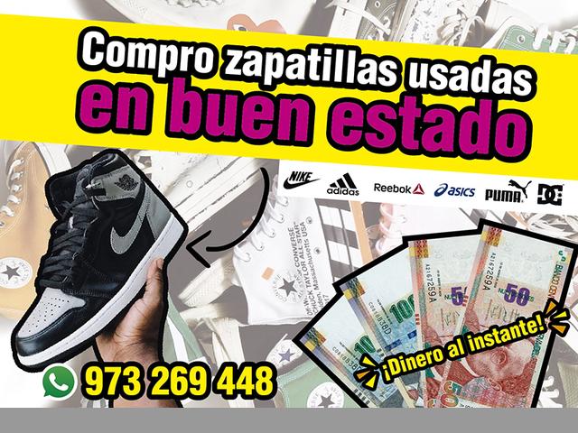 Compro zapatillas usadas