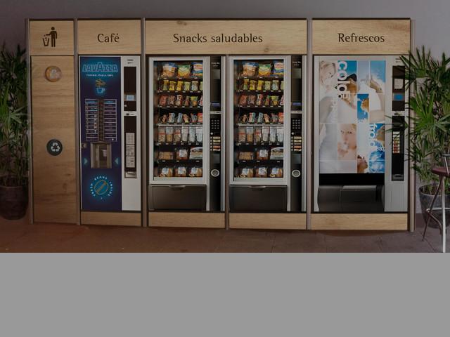 Bages Vending, máquinas expendedoras