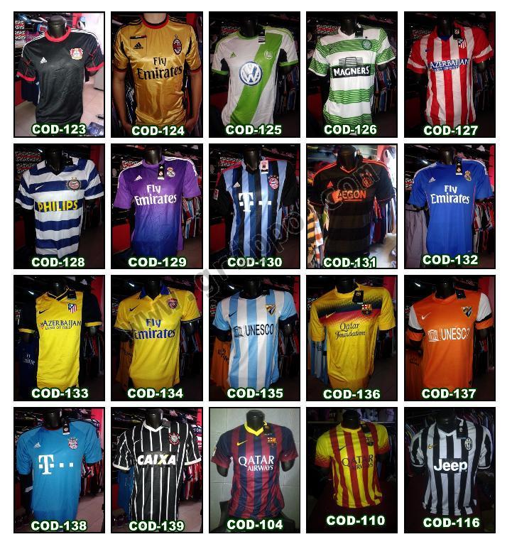 Camisetas de Futbol por Mayor y Menor Nuevas 4b0c0264a2381
