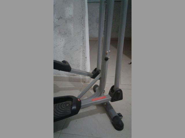 Eliptico-escalador-bici fija, todo en uno