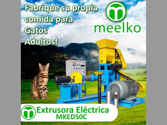 Extrusora Meelko para pellets alimentación perros y gatos 60-80kg-h 11kW