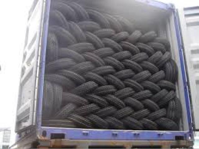 compro llantas usadas para camion por contenedor