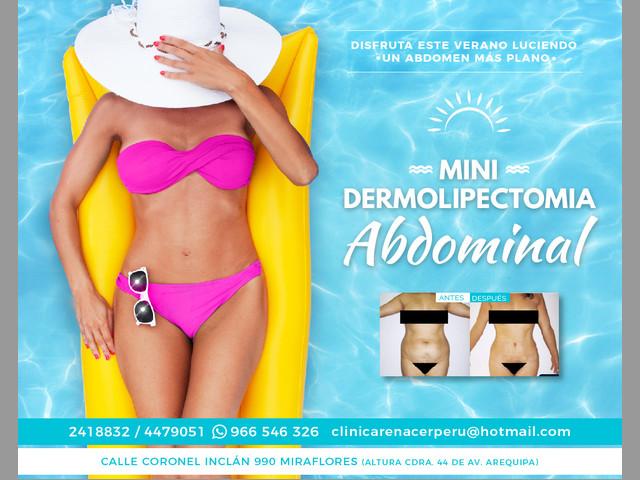 Reduce de piel abdominal - Clínica Renacer