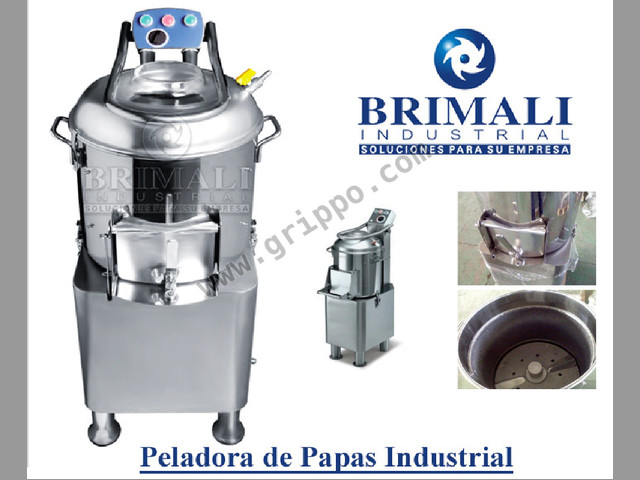 EXTRACTOR DE FRUTAS Y VEGETALES BOXA BRIMALI INDUSTRIAL LIMA