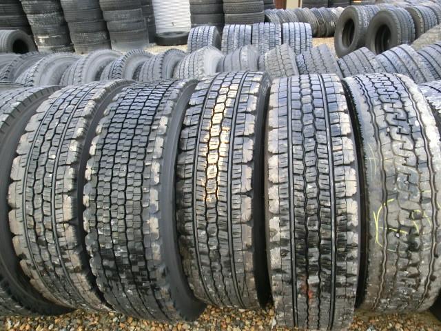 Neumáticos usados para la exportación