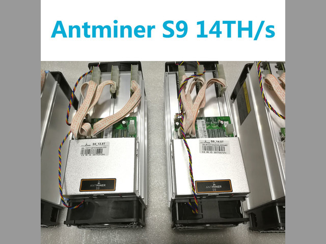 Bitmain Antminer S9 14TH-s con APW3++ PSU