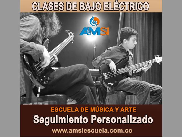 CLASES DE BAJO ELÉCTRICO En Bogotá